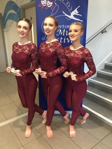Sophie Knight, Cara Redman, Gina Lipscombe - Trio
