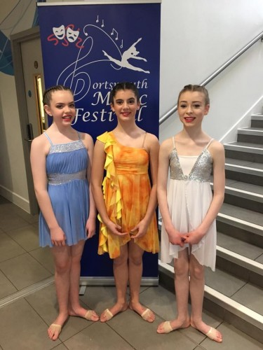 Isobel Price, Martha Lowe & Izzy Findley - Lyrical Solo's