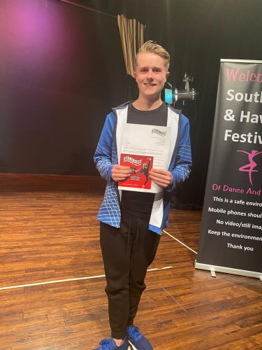 Southsea Festival of Music & Dance 2020 - Award Winner of Starquest College 1 Year Scholarship - Harry Rowsell