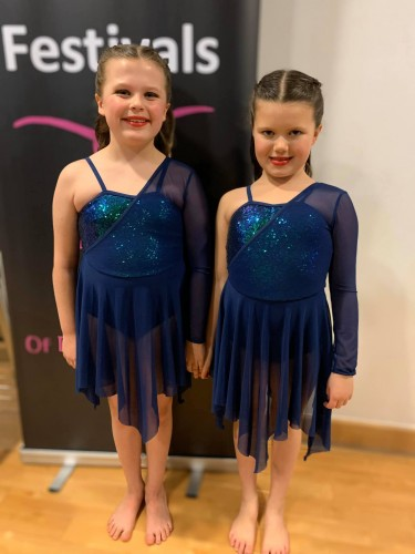 Southsea Festival of Music & Dance 2020 - Duet Entry - 7-8yrs - Kitty Rimmer & Amelie Chance