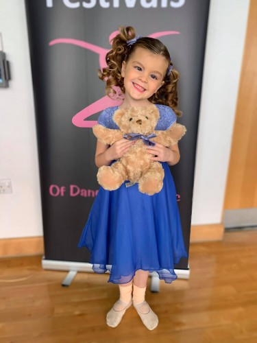 Southsea Festival of Music & Dance 2020 - Solo Entry 5-6yrs -  Imogen Excell