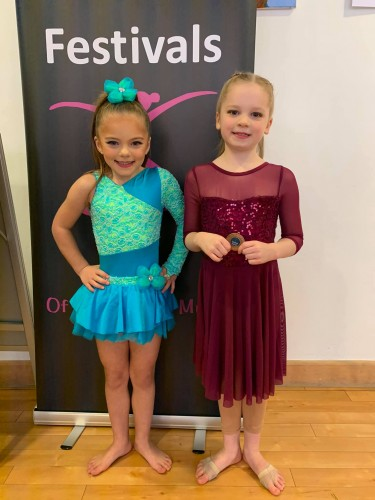 Southsea Festival of Music & Dance 2020 - Solo Entries Under 7's - Bethany Powell & Willow Wright