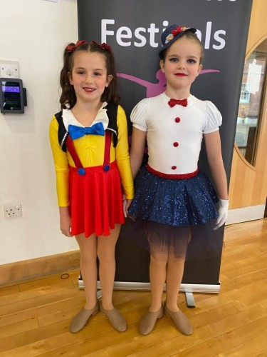 Southsea Festival of Music & Dance 2020 - Solo Entries - 7-8yrs - Seren Leaves & Ivy Connell